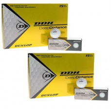 30 x Dunlop DDH Deep Distance Golfbälle 50% Aktion