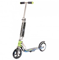 Hudora Big Wheel 205 Scooter Trottinett Blau Grün 14750