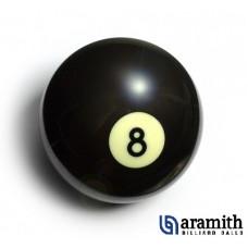 Aramith 57mm Billardkugel Nummer 8