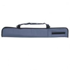 Luxus Carom Snooker und Billardqueue Tasche mit Schultergürt Grau