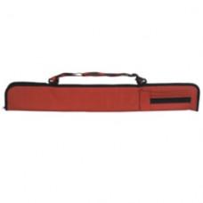 Laperti Luxus Carom Snooker und Billardqueue Tasche mit Schultergürt Rot