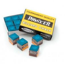 Pioneer Snooker Billard Kreide 12 Stk. Blau