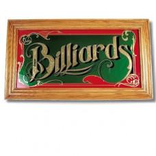 Billard Spiegel mit Echtholzrahmen