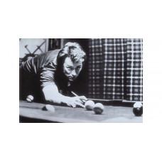 Billard Wandposter Clint Eastwood