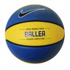 Nike Baller Basketball Grösse 7 Blau/Gelb