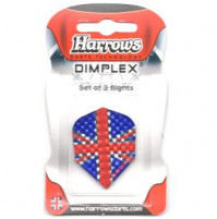 Harrows Dart Flys Dimplex Union Jack