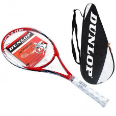 Dunlop X-Fire Graphite Ti 108 Tennisschläger mit Hülle L2