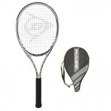 Dunlop Pulse Graphite Tour Tennisschläger mit Hülle L3