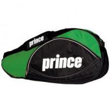 Prince 3er Schlägertasche Schwarz/Grün