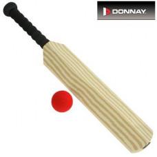 Donnay Kricketschläger und Ball (aus Schaumstoff)