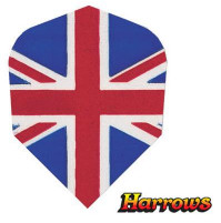 Harrows Dart Flights QUADRO (3) 'Union Jack'