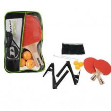 Dunlop Rage Tischtennisset mit 2 Schlägern Bällen und Nezt