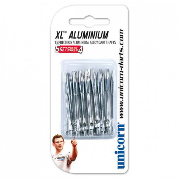 Unicorn XL Aluminium MED 2BA 45mm Shafts 15 Pack