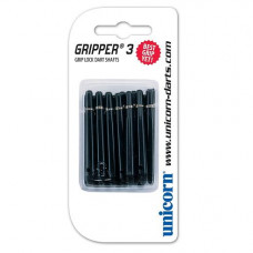 Unicorn GRIPPER 3 Schäfte 45mm Medium Schwarz 15er