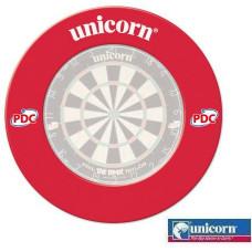 Unicorn Profi PDC Rot Dartscheibe Schutzring Auffangring Surround