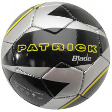 Patrick TX Allwetter Fussball Grösse 5 Silber/Schwarz