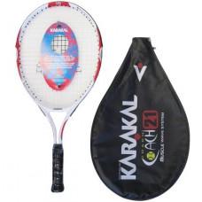 Karakal Coach 21 Kinder Tennisschläger mit Hülle für 5 bis 6 jährige