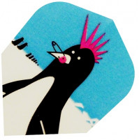 Harrows Dart Flights QUADRO (3) 'Punk Penguin'
