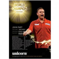 Unicorn Wandposter John Part