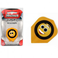 Harrows Dart Flights Flys Quadro Happy Chappy