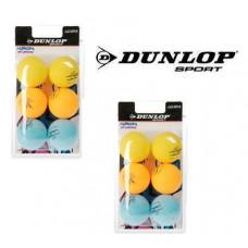 Dunlop Tischtennis Bälle ENERGY (DUO-PACK 12 Bälle) NEON