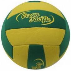 Ocean Pacific Beach Volley Ball Grösse 5 Grün/Gelb aus Textil