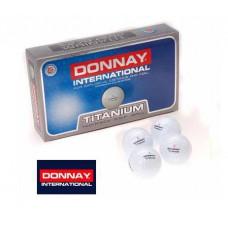 15 x Donnay TITANIUM 2-teilige Golfbälle Weiss