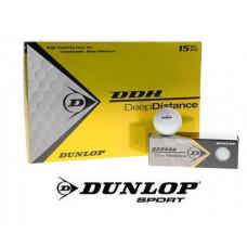 15 x Dunlop DDH Deep Distance Golfbälle