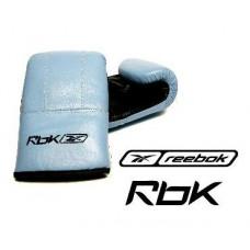 Reebok Kombat Leder Boxhandschuhe Blau