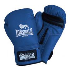 Lonsdale Spar Gloves Blau/Schwarz Grosse: M (8 oz)